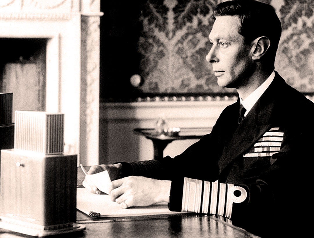 King George VI Radio address
