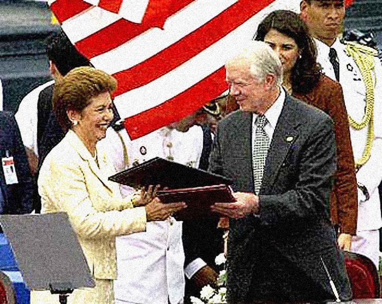 Panama Handover - Dec. 14, 1999