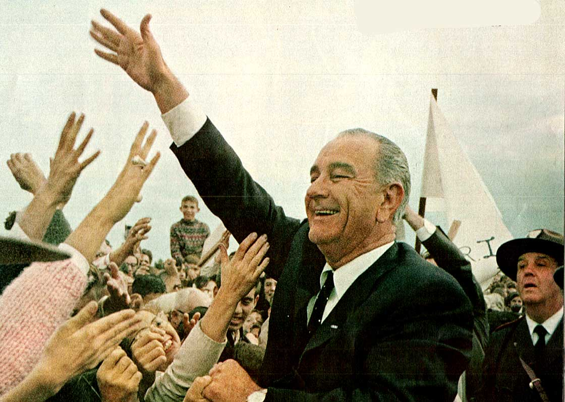 LBJ - Amid the aftermath of a tragedy, visions of a Great Society.