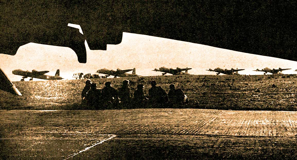 April 4, 1944 - Allied bombers