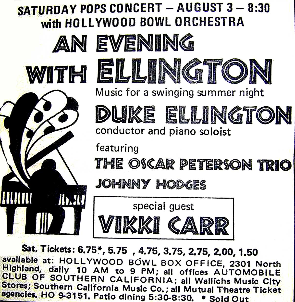 Duke Ellington At The Bowl 1968