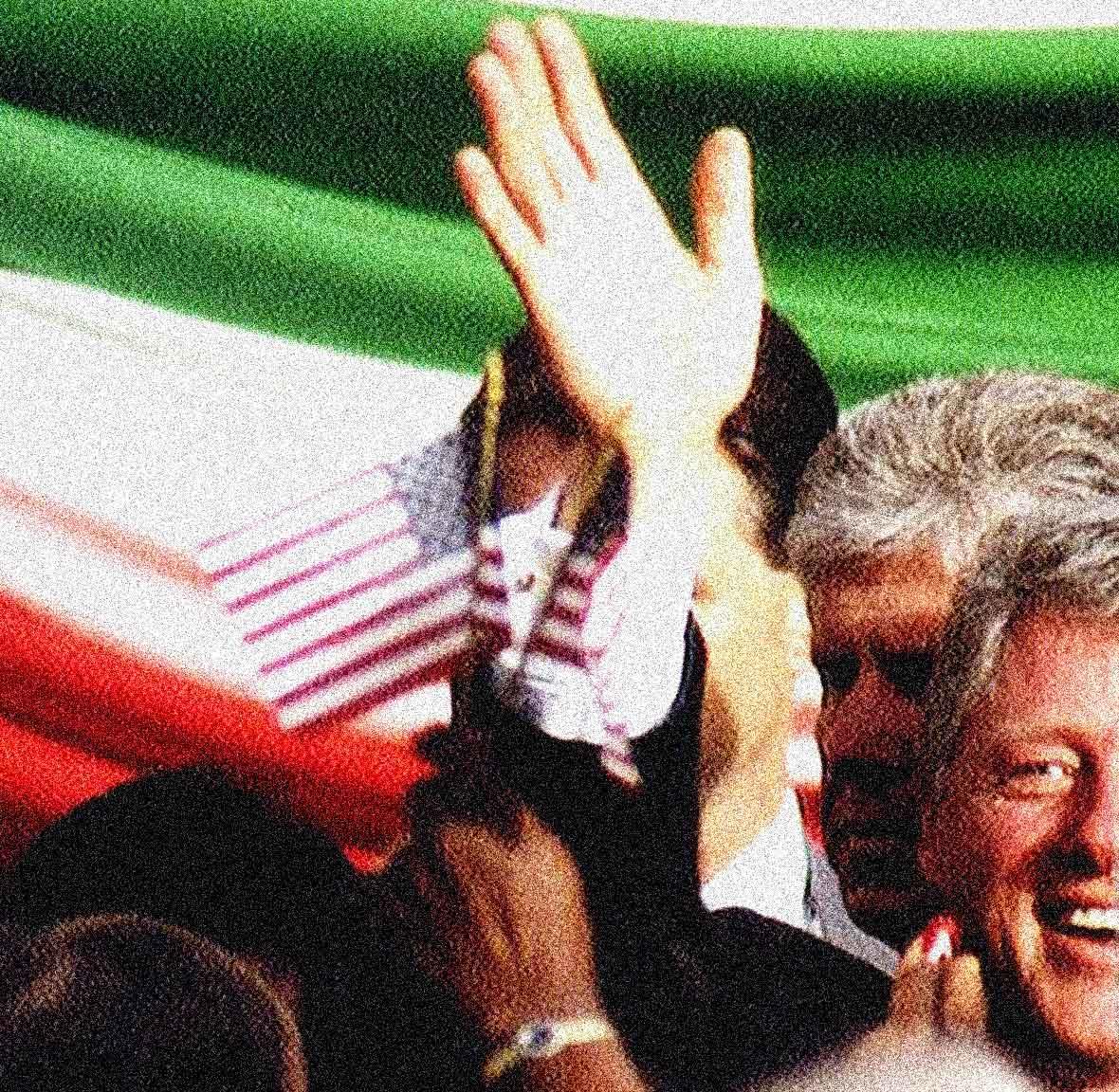 President Clinton in Rome