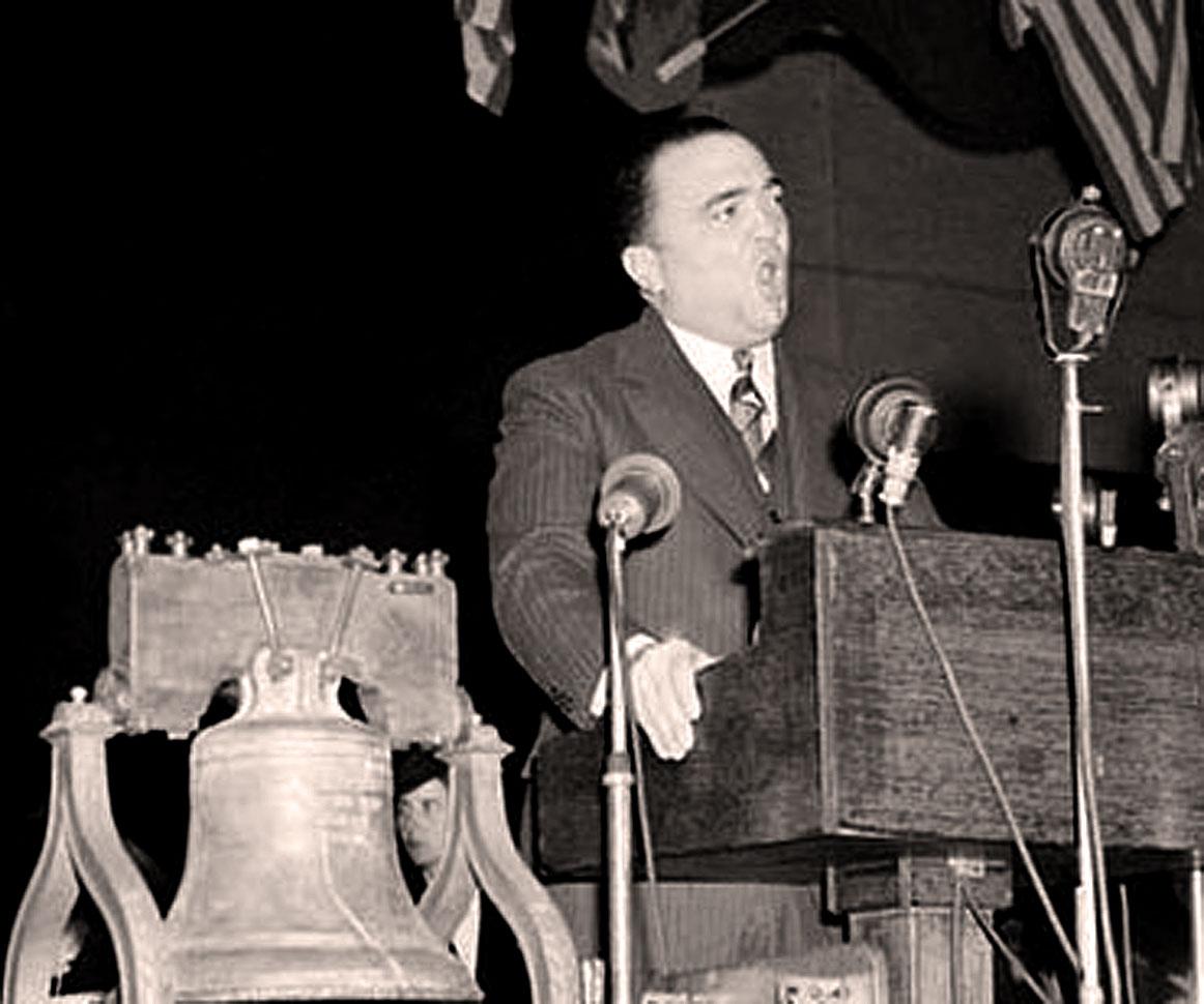 J. Edgar Hoover - American legion Meeting 1940