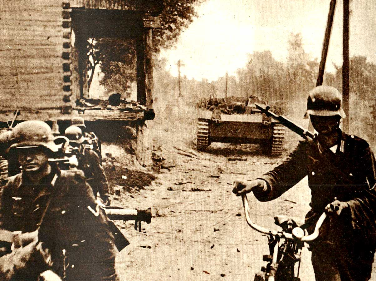 German Troops - October 1941