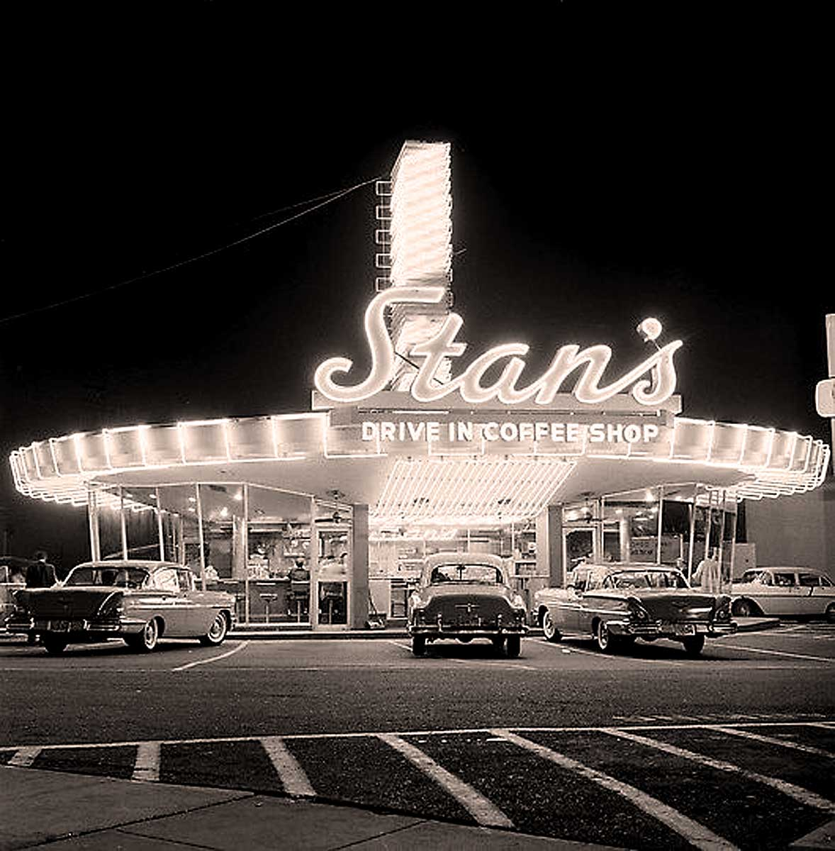 Stan's Drive-In 1958