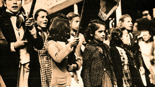 Children in Paris - May Day Demonstration 1947