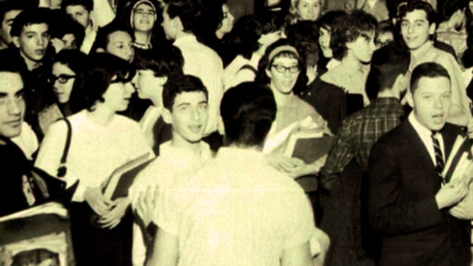 Passing Period - Lincoln High - Brooklyn 1963