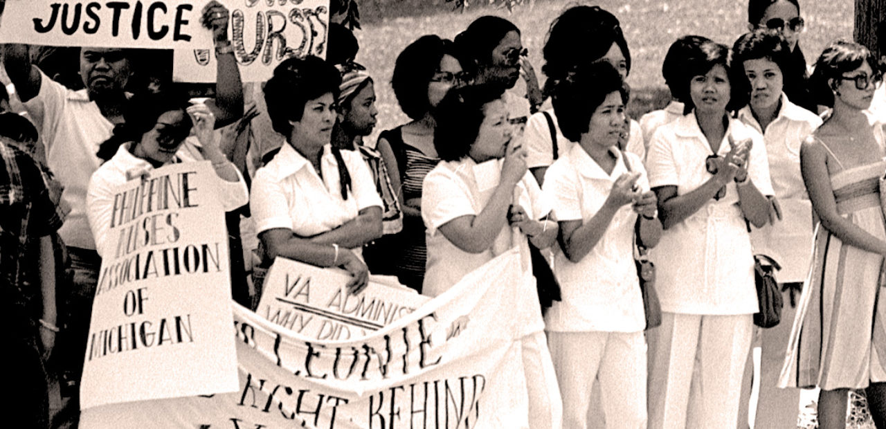 Protests over Nurses Trial in Ann Arbor