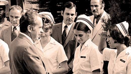 President Nixon - Pneumonia 1974