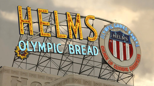 Helms Neon Sign