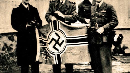 Captured U-Boat flag