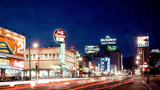 L.A. at night - 1962