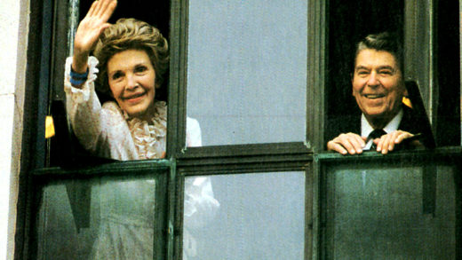 First Lady Nancy Reagan, Cancer Scare