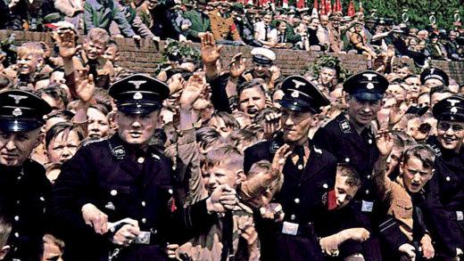 Hitler Address Crowds 1939