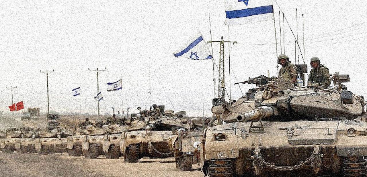 Israeli Tanks in Gaza