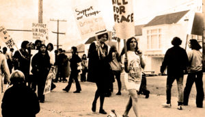 Protesting the Vietnam War in 1970