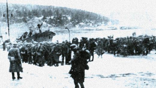 German Troops in Norway