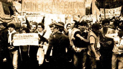 Demonstrations in Buenos Aires