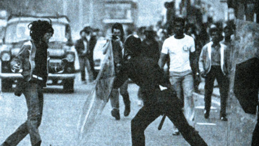 Riots In London - July 13, 1981