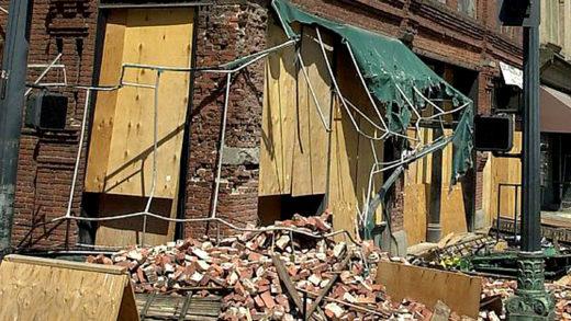Seattle Earthquake - 2001