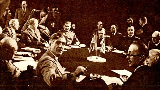 Potsdam Big Three Conference- July 1945
