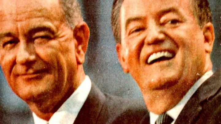 Lyndon Johnson - Hubert Humphrey - 1964