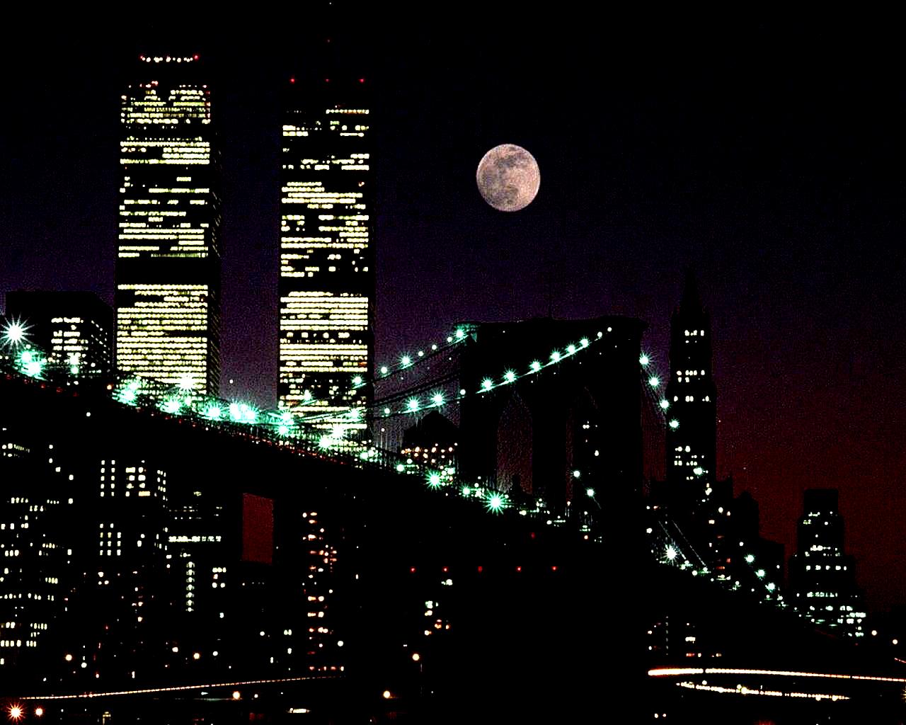 New York Skyline - September 10, 2001