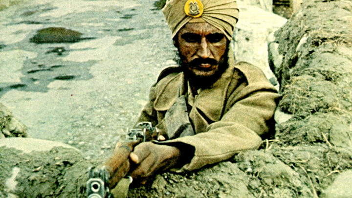 India at war with China and Pakistan - 1962
