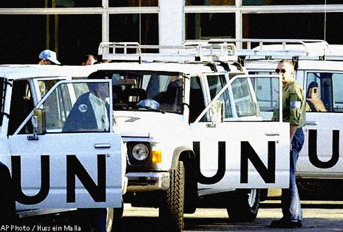 UN Weapons Inspectors getting the Boot from Iraq