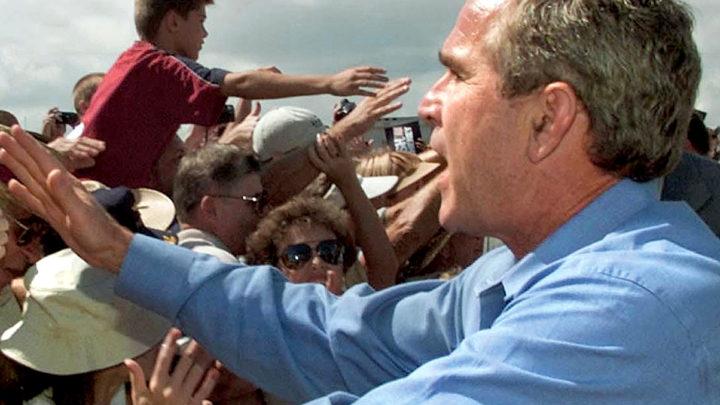 President Bush - Vote-stumping