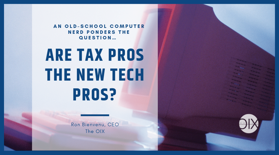 Taxes and Tech: A Parallel Tale of Evolution