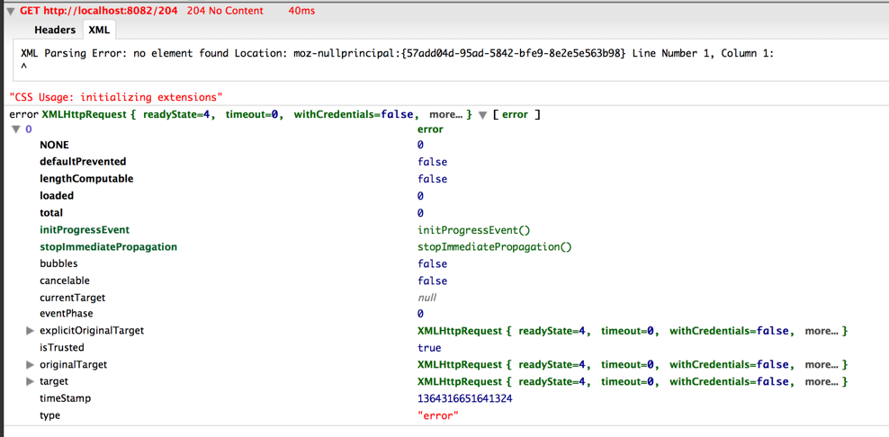 13654 (Ajax response with status code 204 triggers fail() on