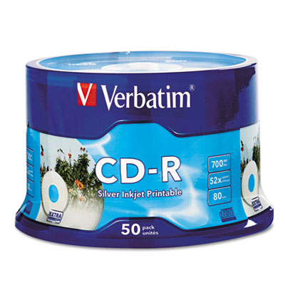 Verbatim CD-R DataLifePlus Printable Recordable Disc