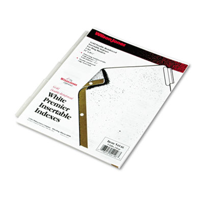 Wilson Jones Gold Line Insertable Tab Dividers