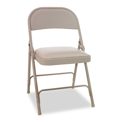 Alera Steel Folding Chair with Two-Brace Support