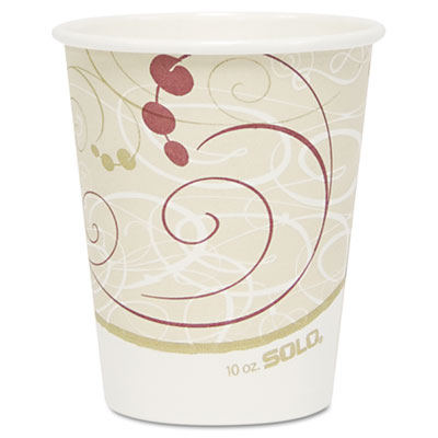 SOLO Cup Company Paper Hot Cups in Symphony Design
