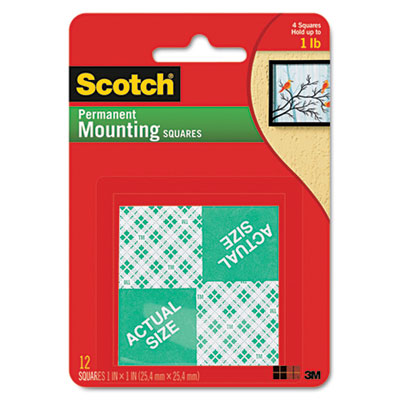 Scotch Permanent High-Density Foam Mounting Tape