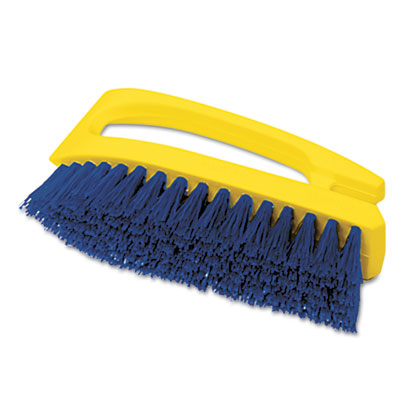 Rubbermaid Commercial Iron-Shaped Handle Scrub Brush