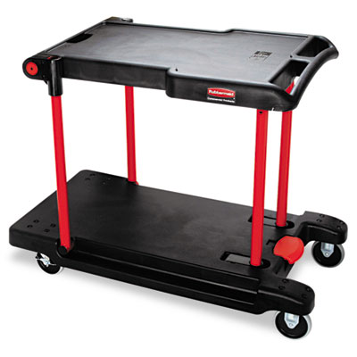 Rubbermaid Commercial Convertible Utility Cart