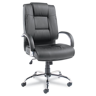 Alera Ravino Series High-Back Swivel/Tilt Leather Chair
