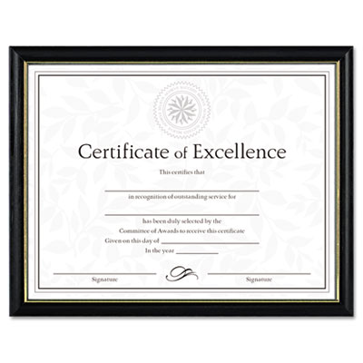 DAX Two-Tone Document/Diploma Frame