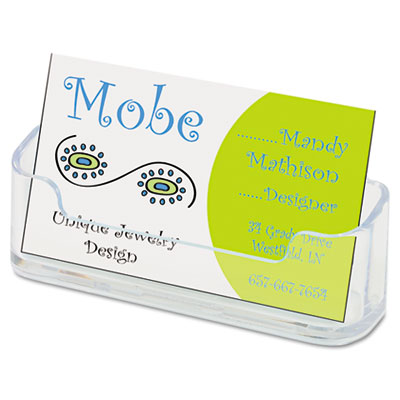 deflect-o Horizontal Business Card Holder