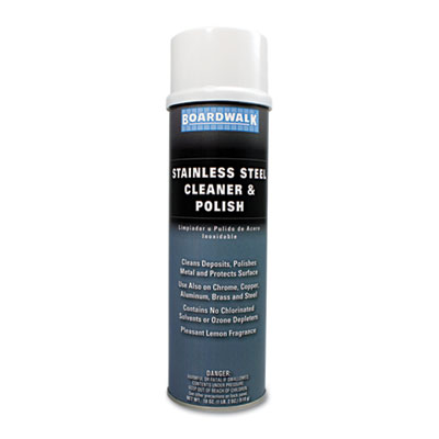 Boardwalk Stainless Steel Cleaner & Polish