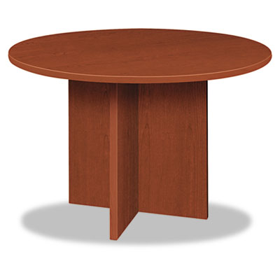 basyx BL Laminate Series Round Table and X Base