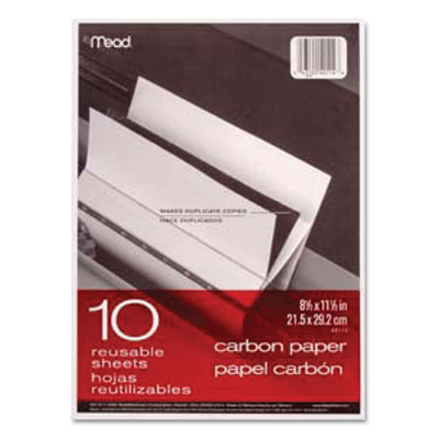 Mead Black Carbon Mill Finish Paper