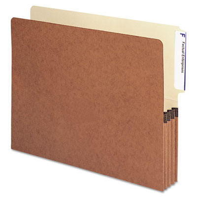 Smead Redrope Drop-Front End Tab File Pockets
