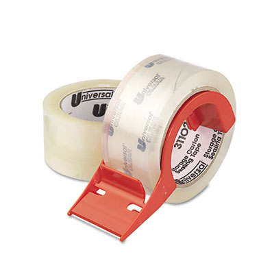Universal Mailing and Storage Tape with Dispenser