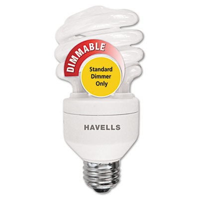 Havells Compact Fluorescent Mini Lynx Spiral Light Bulb