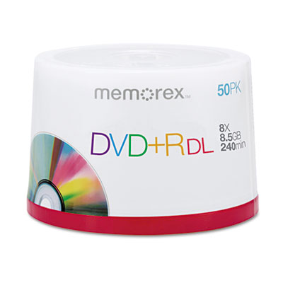 Memorex DVD+R Double Layer Recordable Disc