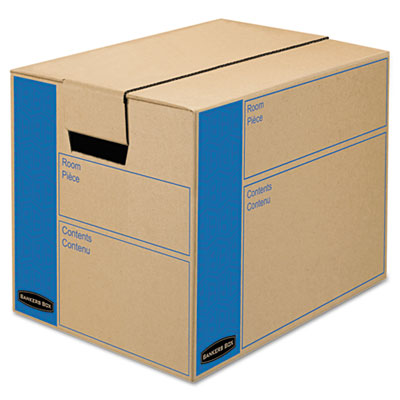 Bankers Box SmoothMove Moving and Storage Boxes